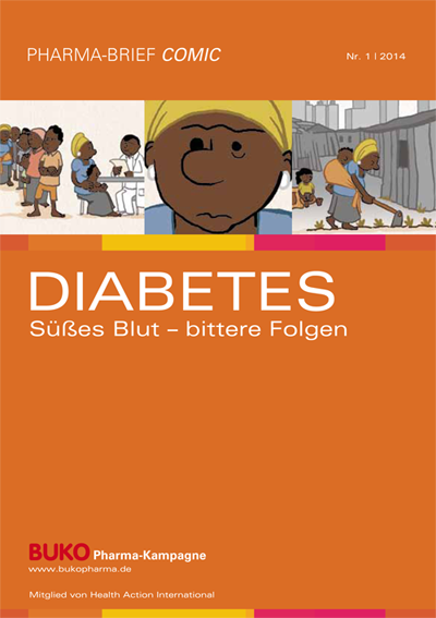 Cover Comic 1 Diabetes