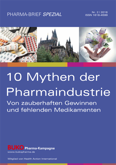 Cover PBS Pharmamythen